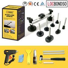 Car Paintless Dent Repair Puller Lifter PDR Tool T Bar Hammer Removal Glue Kit