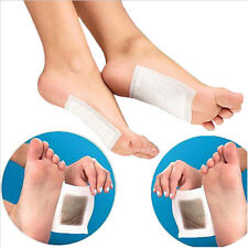 10x Keeping Fit Health Care Detox Foot Pads Patch Detoxify Toxins with Adhesive