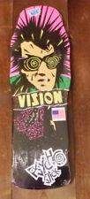 Vision Skateboards Psycho Stick Original Shape Deck Black