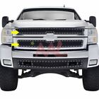 Aal For 2007 08 09 10 Chevy Silverado 25003500 Black Wire Mesh Grille W Rivet