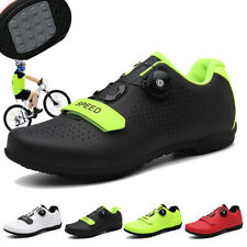 Outdoor Women Road Cycling Shoes Mtb Breathable Racing Bicycle Training Shoes