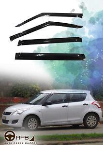 For Suzuki SWIFT 11-17 Deflector Window Visors Guard Vent Weather Shield