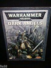 Warhammer 40K Dark Angels 4th Ed Codex Army Book inc Stats: Azrael & Ezekiel
