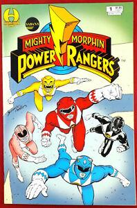 SABAN'S MIGHTY MORPHIN POWER RANGERS #1 White Ranger Card Insert 1994 Hamilton