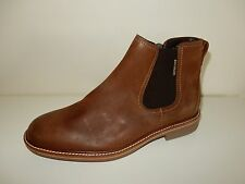 Mens Mephisto WILLEM brown leather ankle boots zippers w/flaws New 8