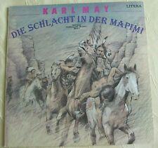 Litera LP Schallplatte Karl May Die Schlacht in der Mapini