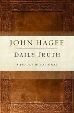 Daily Truth Devotional by John Hagee A 365 Day Devotional Book Hardcover New