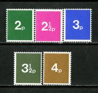 Great Britain Stamps # 5 1970 VF OG NH Test Decimal Single Of 5