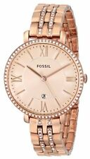 Fossil Jaqueline Rose Dial Rose Gold-plated Ladies Watch ES3546