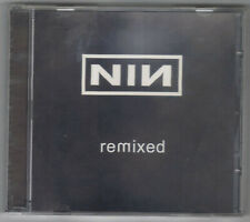 CD NINE INCH NAILS : REMIXED (9 REMIXES) RARE !!! Made in Germany