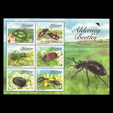 "Alderney 2013 - Fauna ""Alderney Beetles"" Insects - Sc 464a MNH"