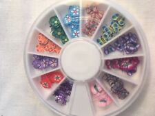 3D Polymer Clay Tiny Fimo Flower/Butterfly/Nail Art/Diamante/Stocking Filler