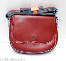 Petit sac a main bandouliere rouge DAVID JONES pour femme besace handbag NEUF #1