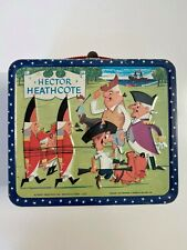 Vintage HECTOR HEATHCOTE Lunch box RARE *  From 1964 * FAB  FUN