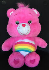 Care Bear Tickle Time Giggling CHEER BEAR Pink Rainbow Plush Toy 2018