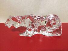 Baccarat STALKING TIGER / LION or Panther Figurine no box