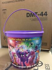 My Little Pony The Movie Popcorn Bucket Tub 2017 *NEW NEVER USED*