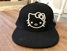 Rare New Era Fitted Hello Kitty New Yourk 59fifty Hat Cap 7 1/4