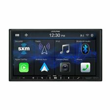 """Alpine iLX-407, 7"""" Double-DIN Digital Media Receiver w/ CarPlay and Android Auto"""