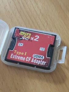 Adapter Micro SD zu CF CompactFlash I