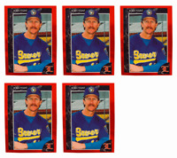 (5) 1992 Legends #49 Robin Yount Baseball Card Lot Milwaukee Brewers