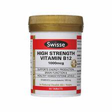 Swisse Ultiboost High Strength Vitamin B12 1000mcg Tablet - 60 Count