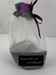 """MARY KAY """"Believe Life Can Be Wonder-Full"""" Mesh Bag. Travel, Storage 10"""" NEW."""