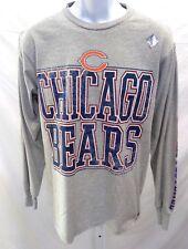 Chicago Bears Football Long Sleeve T-Shirt Gray
