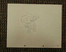 Cute AMBROSE Disney Original Production Drawing THE ROBBER KITTEN 1935 Watermark