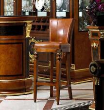 Barhocker Stuhl Sessel Bar Hausbar für  Theke Tresen Barschrank Barock Rokoko