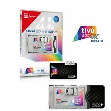 Tivusat CI+ Cam Modul 4K Karte Aktiviert Ultra HD aktive Smartcard RAI Mediaset