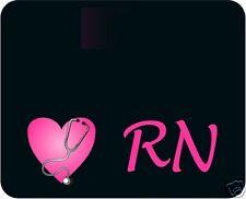 Nurse / Rn / Lpn - Art Mouse Pad - Free Personalizing!