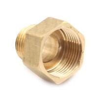 "Metal Brass Metric BSP G 3/4"" Female to NPT 1/2"" Male Pipe Fitting Adapter FJ"
