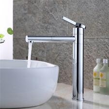 Waschtischarmatur Hoch Waschbecken Wasserhahn Einhandmischer Mischbatterie Chrom