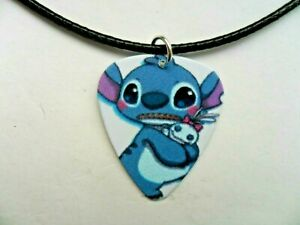New  Lilo and Stitch  STITCH   Guitar Pick  Necklace  Choice of Two