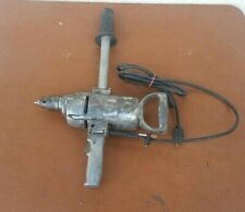 """Vintage Rockwell 1/2"""" Corded Drill Model 378 Industrial Heavy Duty 560 RPM USA"""
