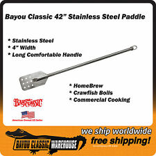 "42"" Stainless Steel Stir Paddle for Homebrew Crawfish Boil Bayou Classic 1042"