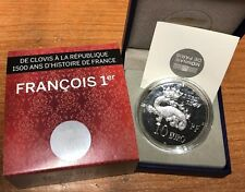 France 2013 FRANCOIS I 10 euro Silver Proof - Francia € silber argent Francis 1