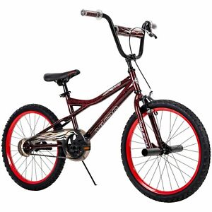 Boy's Huffy BMX Bike 20inch Wheels Pegs Front Brakes Huffy Red/Black