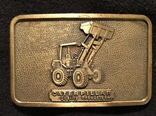 Caterpillar Tractor Vintage Wheel Loader Belt Buckle Quality Products