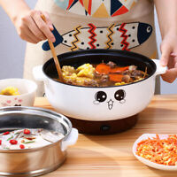 Versatile 3-IN-1 Electric Wok & Skillet Electric Steamer Nonstick W/ 5 Free Gift