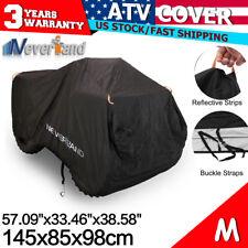 M Waterproof ATV Cover Youth Fit for Polaris Honda Yamaha Can-Am Suzuki Kawasaki