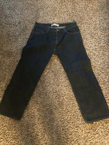 Levi's 559 Relaxed Straight Blue Denim Jeans Mens Size 36 X 30