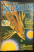 THRILLING WONDER STORIES pulp magazine August 1943