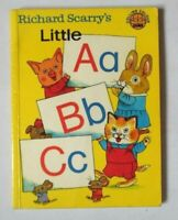RICHARD SCARRY'S LITTLE A B C SMALL PB BOOK 1976 COLLINS COLOUR CUBS SCARRY