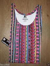Camisetas de hombre multicolor 100% algodón sin mangas