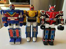 Vintage Bandai Super Sentai robots lot