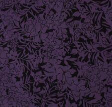 Vintage Sari 100% Pure Silk Printed Applique Work Purple Saree Soft Fabric