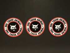 3 Oilfield Bobcat Crane Hardhat stickers Union Iron Workers Mining Sticker