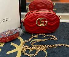 GG Marmont Model Faux Leather Free Color 13x19 cm Belt Bag